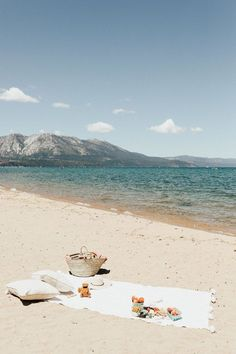 The perfect day in Tahoe. a beach picnic with the bestie. - The perfect day in Tahoe. a beach picnic with the bestie. The perfect day in Tahoe. a beach picnic with the bestie. Photos Bff, Beach Photos, Beach Images, Beach Aesthetic, Summer Aesthetic, Flower Aesthetic, Blue Aesthetic, Aesthetic Fashion, The Last Summer