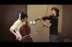 """Two Kids Play The Beatles' """"Let It Be"""" On The Cello And Violin"""