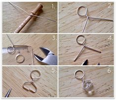 DIY: Stitch markers for yarn lovers (beads and twisted wire) from Miss P. http://portialawrie.blogspot.com/2013/01/diy-stitch-markers-for-yarn-lovers.html