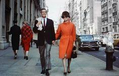 The perfect orange coat. #Breakfast at Tiffany's