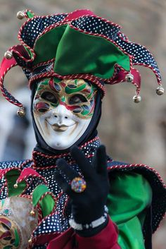 The Jester, Carnavale in Venice, Italy