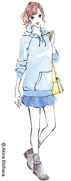 Client: Standard Magazine CO.,LTD _ bea's up 2015.2 Illustration: Akira Ebihara