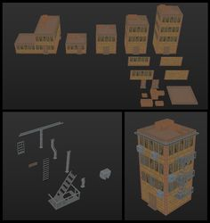 LOWPOLY (sub 1000~ triangle models) - Page 528 - Polycount Forum
