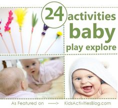 24 baby activities to help your child play and explore