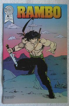 Rambo #1 (Oct 1988, Blackthorne Publishing, Inc.) VF/NM 9.0