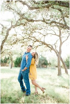 yellow dress wrap dress san antonio film photography canyon lake engagement phot - Jennifer Home Lake Engagement Photos, Country Engagement Pictures, Engagement Shots, Engagement Photo Outfits, Engagement Photo Inspiration, Engagement Couple, Engagement Photography, Film Photography, Winter Engagement