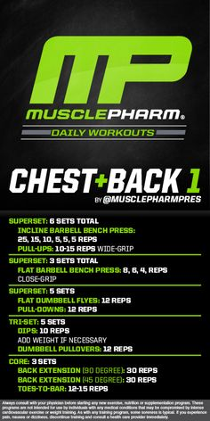 Chest and Back 1