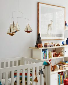 A CUP OF JO: Home makeover: Boys Nursery (@Oeuf NYC)