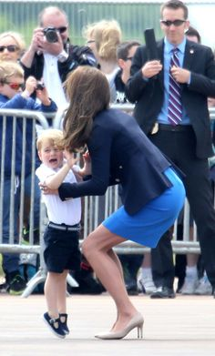 Royal Family Around the World: Prince William Duke of Cambridge and Catherine, Duchess of Cambridge Visit The Royal International Air Tattoo at RAF Fairford on July 8, 2016 in Fairford, England.