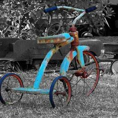 Old rusty trike