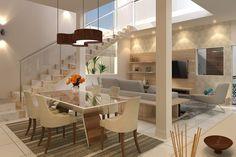 Projeto de sobrado com design inovador - Projetos de Casas, Modelos de Casas e Fachadas de Casas
