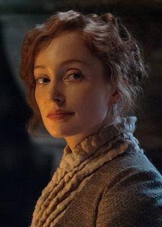 Geillis Duncan (Lotte Verbeek) from Episode 3 of Outlander on Starz via http://outlandertvnews.com/
