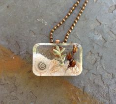 Beach Jewelry Beach Scene Island Jewelry by TropigirlsTreasures