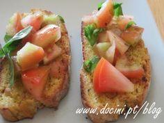 Tiborna de Broa de Milho com Tomate e Manjericão 2