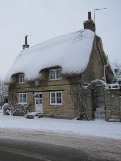 Snowy cottage -