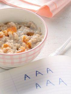 Γάλα με βρώμη, βερίκοκα ξερά και μήλο - www.olivemagazine.gr
