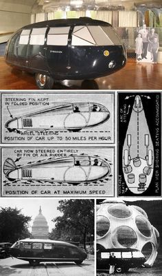 20 Outstanding & Outrageous Concept Cars from the Golden Age