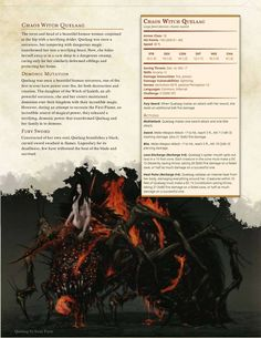 DnD 5e Homebrew — Darksouls monsters part 2 by Braggadouchio