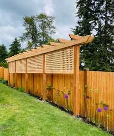 Privacy Fence Landscaping, Privacy Fence Designs, Outdoor Privacy, Backyard Privacy, Backyard Fences, Backyard Landscaping, Garden Privacy, Privacy Fences, Privacy Screens
