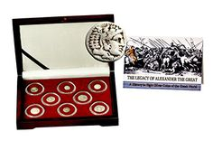 326 The Legacy of Alexander the Great ,A History in 8 Coins of the Greek World,Beautiful Boxed Set Very Good >>> Want additional info? Click on the image.