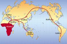 Homo Sapiens habría salido de África antes de lo pensado