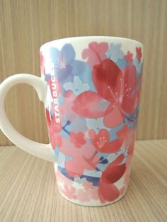 Starbucks  small sized ( 390ml ) sakura mug from Japan 2012