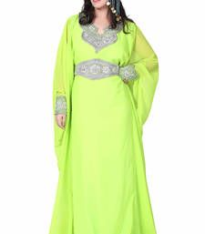 Buy green kaftan islamic dress  Reaymade Abaya online