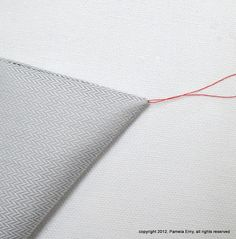 """Off The Cuff ~Sewing Style~: Perfect Collar Points...A Shirtmaker's """"Secret"""" Technique"""