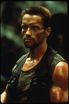 """Arnold Schwarzenegger in """"Predator"""" (1987)"""