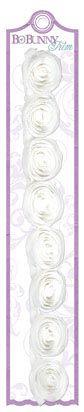 Bo Bunny Press - Winter Joy Collection - Christmas - Rose Trims - White at Scrapbook.com $2.09