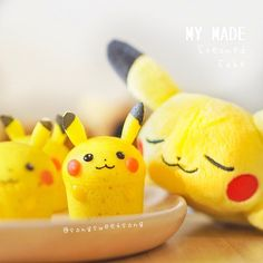 Pikachu steamed cakes by Song Sweet Song (@songsweetsong)