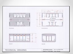 technical drawing .....environment design