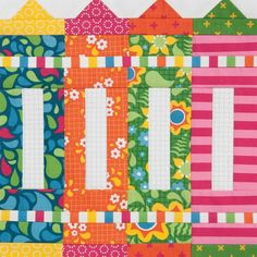 Quilt block by Kimberly Jolly from Fat Quarter Shop from Quiltmaker's 100 Blocks Vol. 11. Join us for our blog tour and giveaway