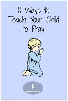 A child praying melts God's heart like nothing else! Here are some great activities and different ideas to teach your young kids how to pray.