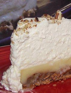 Praline Custard Pie Recipe from Something Elsah