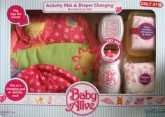 Baby Alive Activity Mat & Diaper Changing Accessory Set