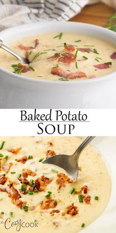 Cheesy Recipes, Easy Soup Recipes, Mexican Food Recipes, Dinner Recipes, Cooking Recipes, Healthy Recipes, Ham Recipes, Potato Soup Recipes, Comfort Food Recipes