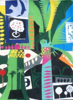 Collage R Graves's garden