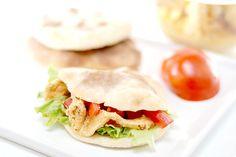 Kebab de pollo macerado