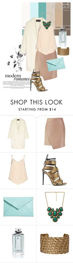 """Spring Romance"" by nansy39 ❤ liked on Polyvore featuring Donna Karan, Carven, Alice + Olivia, Tom Ford, BP., Forever 21, Gucci and Charles Albert"