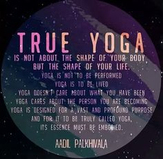 Yoga is love of my life! on We Heart It - http://weheartit.com/s/GcyXuhjn