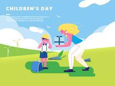 Children's day by Shu Shan