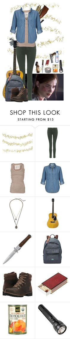 """Ellie Williams - The Last of Us Part 2 - Gaming"" by little-miss-otp ❤ liked on Polyvore featuring Order Home Collection, RIFLE, J Brand, AllSaints, Miss Selfridge, FOSSIL, Timberland, OKA, Maglite and Evian"