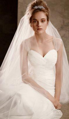 simple chic wedding dress
