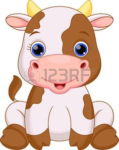 Illustration of Cute baby zebra cartoon vector art, clipart and stock vectors. Cute Baby Cow, Baby Cows, Cute Cows, Cute Babies, Baby Elephants, Zebra Cartoon, Cartoon Cow, Cute Cartoon, Cartoon Photo