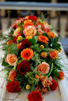 Fall Flowers, Fresh Flowers, Rose House, Casket Sprays, Memorial Flowers, Cemetery Flowers, Deco Floral, Funeral Flowers, Without Makeup