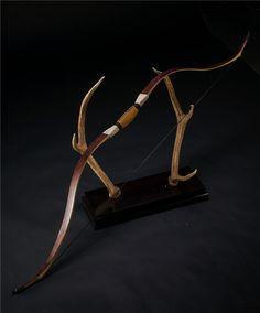 20-55# Customized Archery Traditional Crimea Tartar Bow Bubinga Laminated Bow Recurve Bow Longbow for Outdoor Hunting Shooting #Affiliate