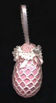 Victorian Easter Egg Ornament