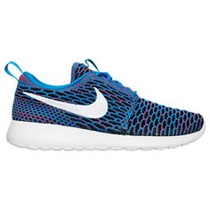 Women's Nike Roshe One Flyknit Casual Shoes - 704927704927-404| Finish Line