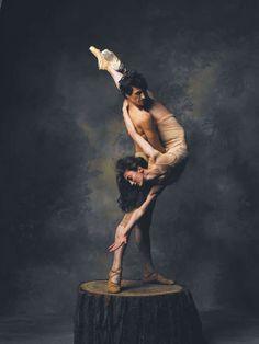 "✿ Dance For Life""  Victoria Jaiani and Temur Suluashvili  The Joffrey Ballet Company ~ Photo by Sandro ✿"